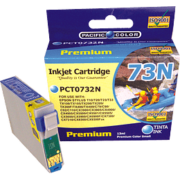 734N Cyan Cartridge Pacific Color Compatible Epson