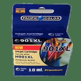901XL Comp. Negro Hp Cartridge pacific color