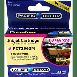 296 13ml Magenta Cartridge Alternativo Pacific Color