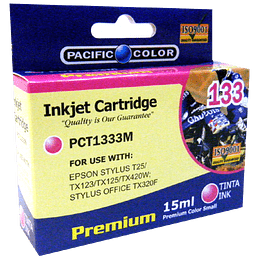 133 Magenta Cartridge Pacific Color Comp Epson