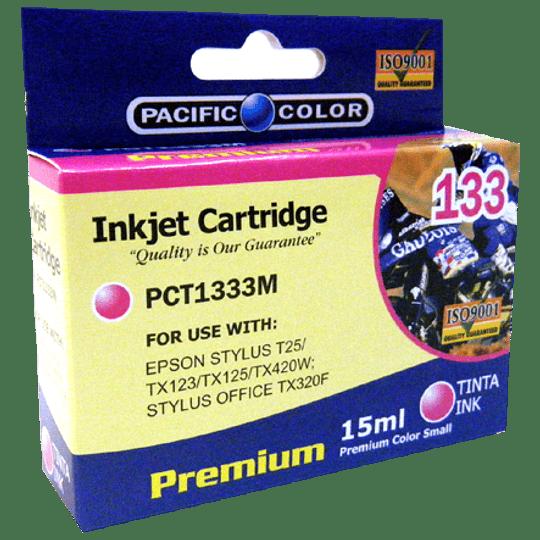 133 Magenta Cartridge Pacific Color Comp Epson