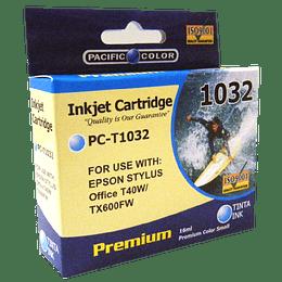 103 cyan Cartridge Pacific color Compatible Epson