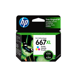 Hp 667xl  Color Cartridge Original 2ml