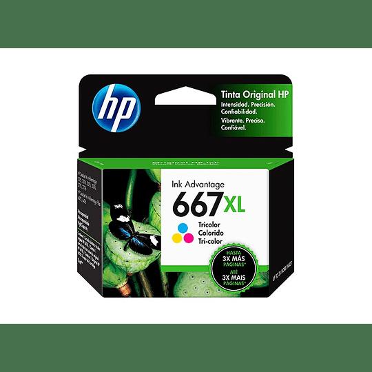 Hp 667xl  Color Cartridge Original 2ml