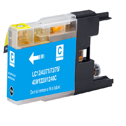 LC75C Cartridge Alternativo Cyan Logic Compatible Brother