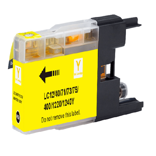LC75Y Cartridge Alternativo Yellow Logic Compatible Brother