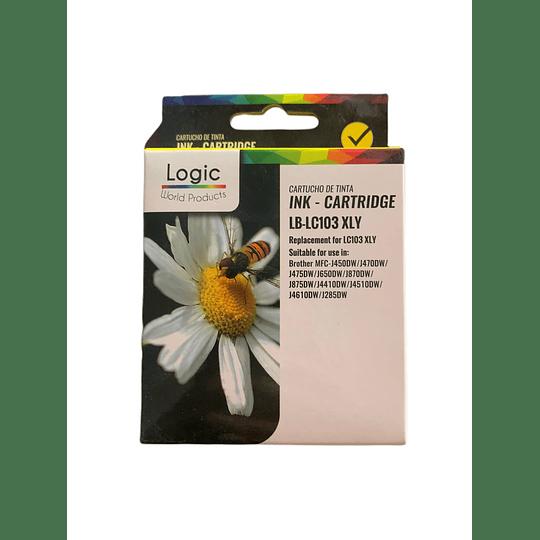 LC103 Yellow Cartridge Logic