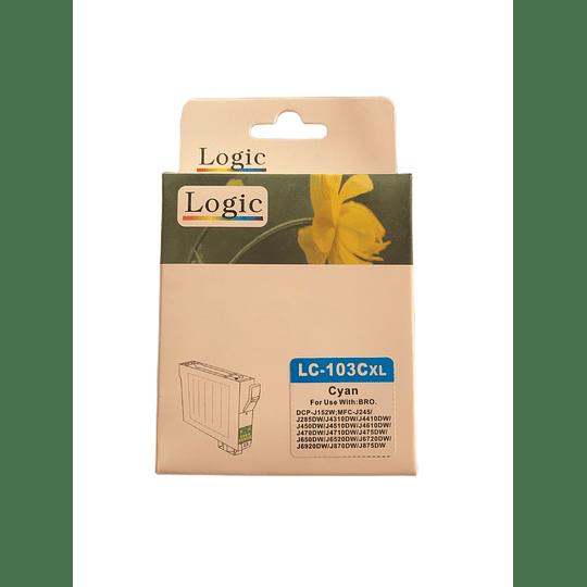 LC103 Cyan Cartridge Logic