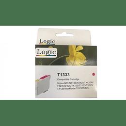 133 Magenta Cartridge Alternativo Comp Epson Logic
