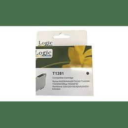 133 Negro Cartridge Alternativa Comp Epson Logic