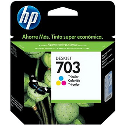 Cartucho de Tinta HP 703 Tricolor Original
