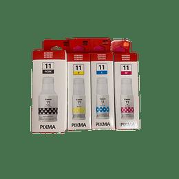 GI11 Pack 4 colores Bk, Cyan, Yellow, Magenta