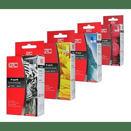 950XL y 951XL Alternativo 4 colores Negro, Cyan, Yellow y Magenta Comp HP Pack GTC