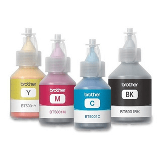 BTD60-6001 BK + 5001 Compatible Brother Pack 4 colores alternativo