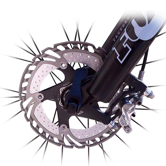 Disco de Freno BRAKCO Flotante Con disipador Negro 203mm