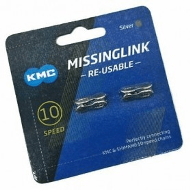 2 Eslabones rapido de cadena KMC 10 Velocidades