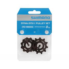 Roldanas Shimano XT 8000 11V. DYNA-SYS11