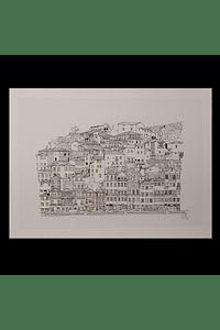 Fachadas dos Guindais / Guindais facades