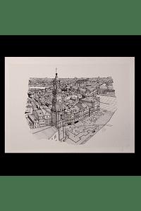 Torre dos Clérigos aérea / Aereal view Clérigos Tower