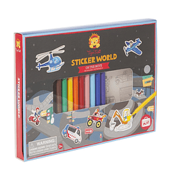 Mundo de Stickers Transportes