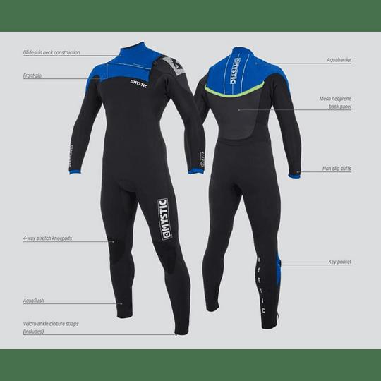 MYSTIC Drip Traje de Agua <br> Front Zip - Wetsuit - Image 3