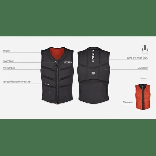 MYSTIC Foil Impact Vest Fzip Kite - Image 3