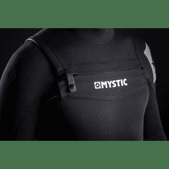 MYSTIC Star Fullsuit 5/3 Double Fzip Black - Image 2