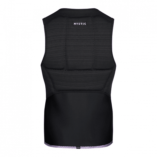 MYSTIC Diva Impact Vest Fzip Women Black - Image 2