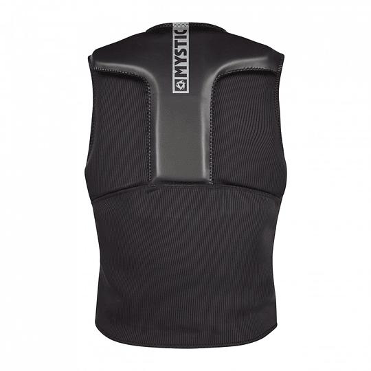 MYSTIC Impact Block Vest Fzip Black  - Image 2