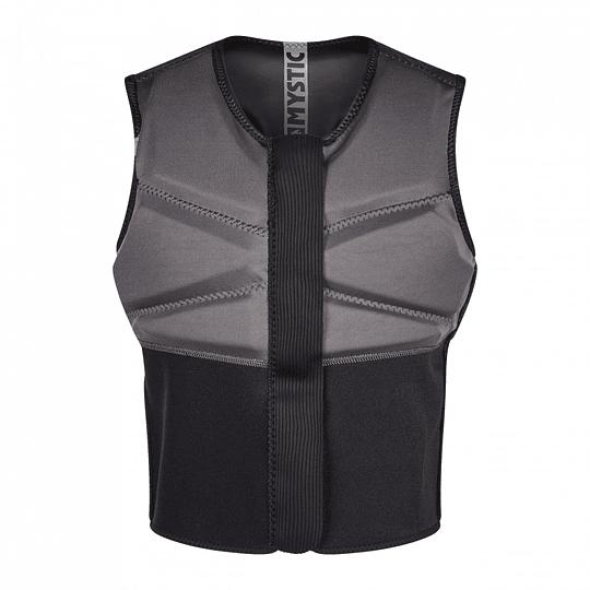 MYSTIC Impact Block Vest Fzip Black  - Image 3