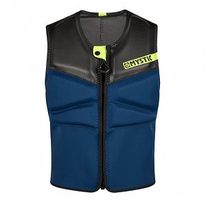 MYSTIC Impact Block Vest Fzip  Navy / Lime
