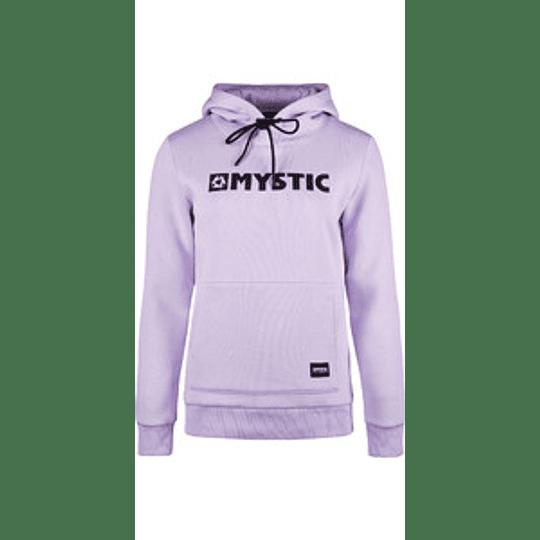 MYSTIC Brand Hoodie Sweat Pastel Lilac - Image 1