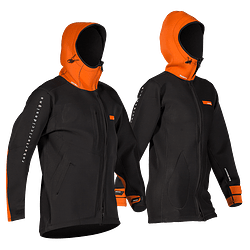 RRD Neoprene Long Jacket  2/2 Orange Black