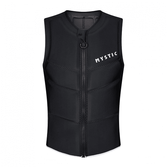 MYSTIC Star Impact Vest  Fzip Black - Image 1