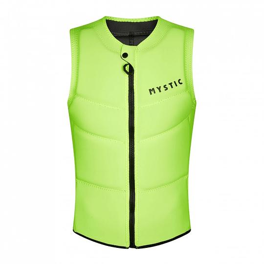 MYSTIC Star Impact Vest Fzip Flash Yellow - Image 1