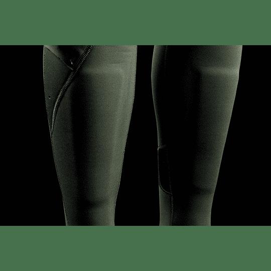 MYSTIC Dazzled Fullsuit 5/3mm Double Fzip Women Dark Leaf - Image 7