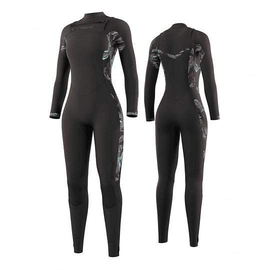MYSTIC Dazzled Fullsuit 5/3mm Double Fzip Women Black - Image 1
