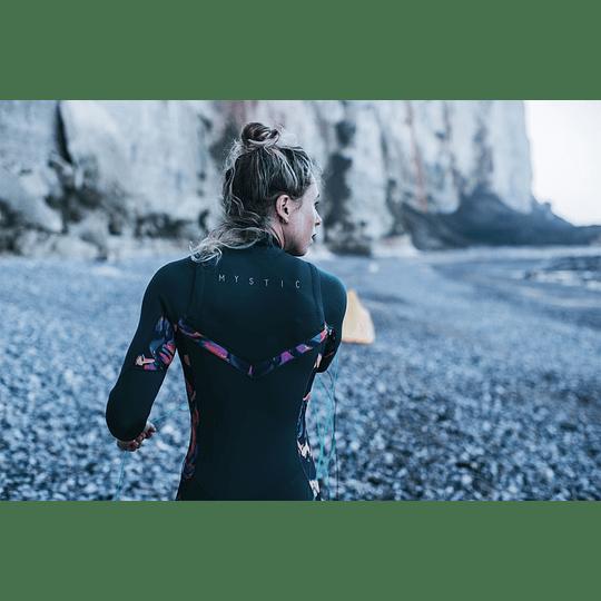 MYSTIC Dazzled Fullsuit 5/3mm Double Fzip Women Black - Image 4