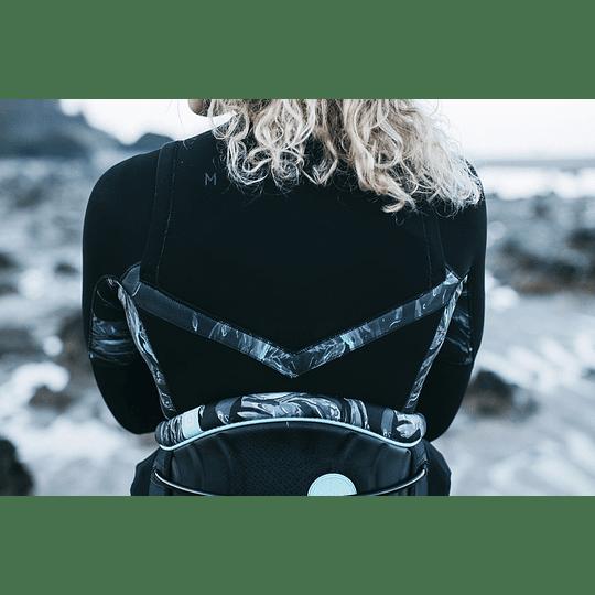 MYSTIC Dazzled Fullsuit 5/3mm Double Fzip Women Black - Image 5