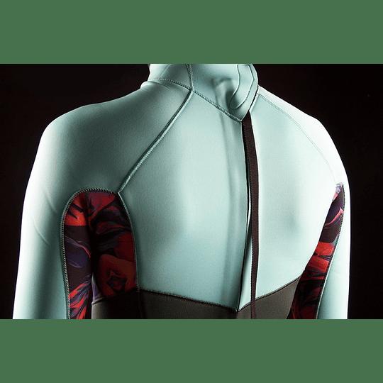 MYSTIC Dazzled Fullsuit 5/3mm Bzip Women Dark Leaf - Image 2