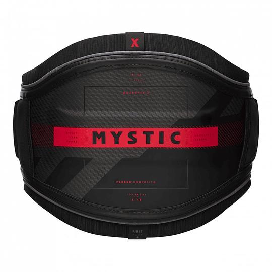MYSTIC Majestic X Waist Harness Black/Red - Image 1