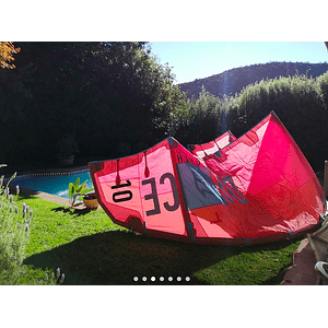 KITE NORTH DICE 10M USADO