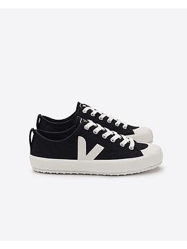 Veja - Novas black white canvas