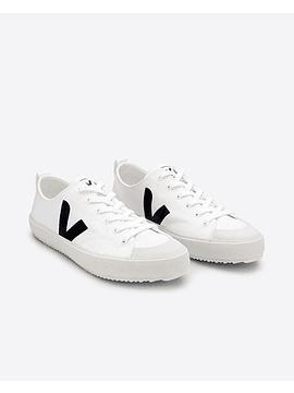 Veja - Novas white black canvas