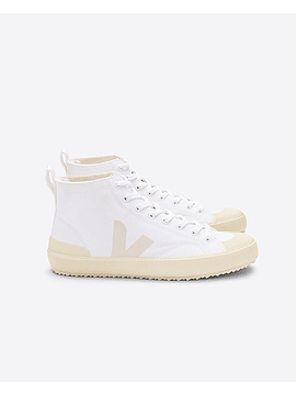 Veja - Novas ht white butter sole canvas