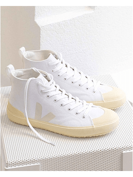 Veja - Novas ht white butter sole canvas