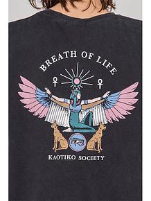 KAOTIKO - M/C WASHED GODDESS ISIS BLACK