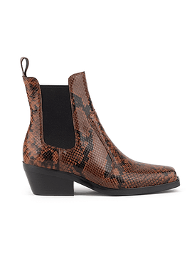 Jeffrey Campbell - Poker - brown snake