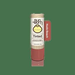 Tinted SPF 15 Lip Balm Nude Beach Sun bum