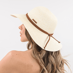 Sombrero de paja claro Polemic